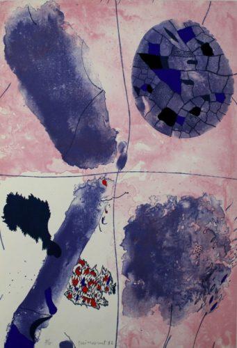 Blaus by Josep Guinovart at