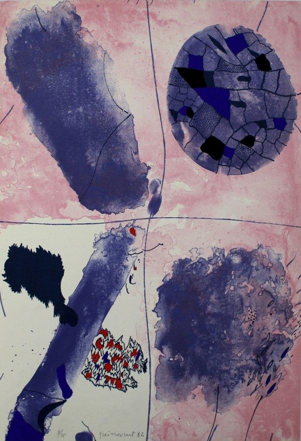 Blaus by Josep Guinovart