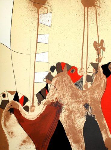 Fang 3 by Josep Guinovart at