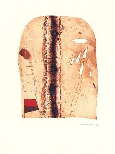 Imatges I Terra 1 by Josep Guinovart at Josep Guinovart