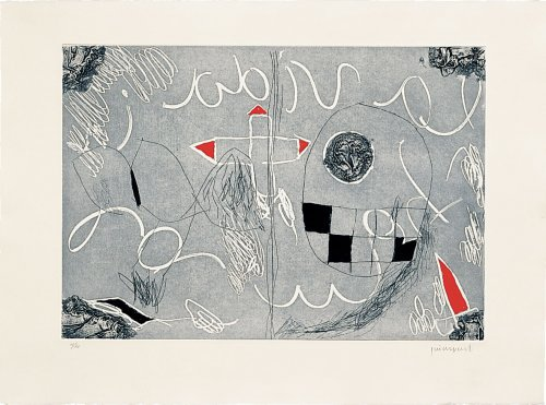 Imatges I Terra 5 by Josep Guinovart at