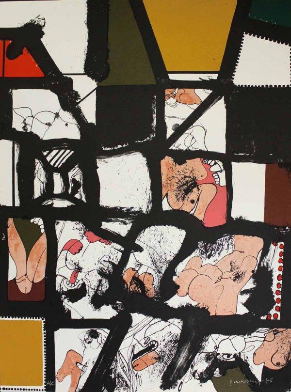 L'ull 1976 by Josep Guinovart