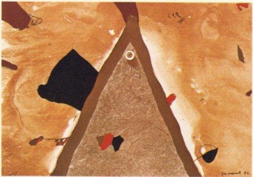 L'ull 1982 by Josep Guinovart at