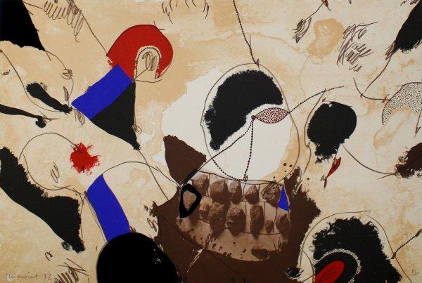 Pedres I Dents by Josep Guinovart at