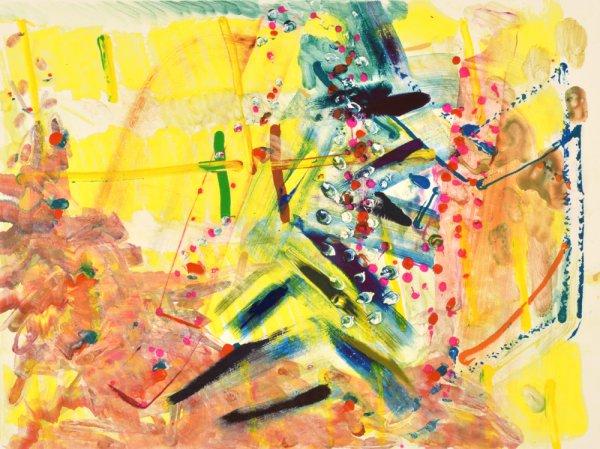 Pine Rain 1 by Josette Urso