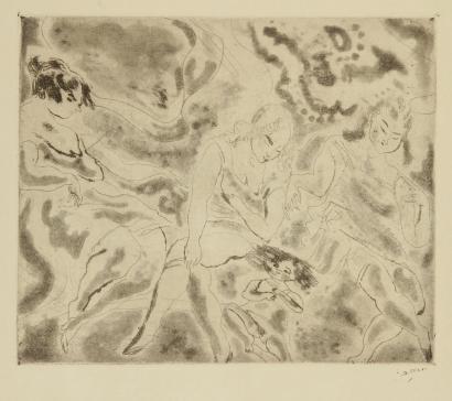 Femmes Et Enfant by Jules Pascin