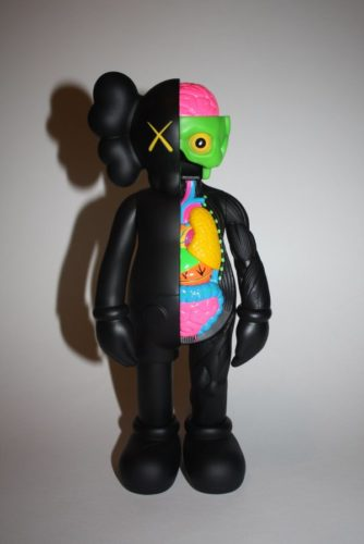 Companion Black (frayed) by KAWS at KAWS