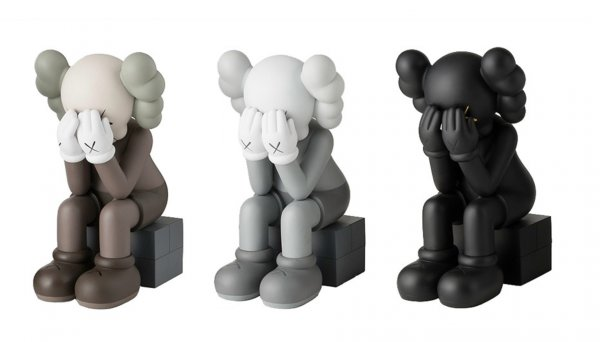 Passing Through (set Of 3) by KAWS