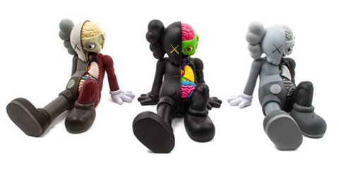 Resting Place Companions (set Of Three) by KAWS