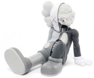 Resting Place (grey) by KAWS at