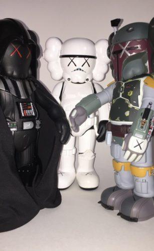 Star Wars Companions (set Of Three) by KAWS