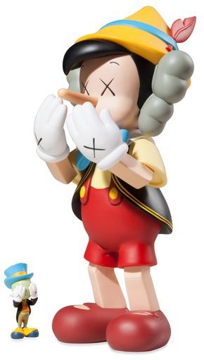 Pinocchio & Jiminy Cricket by KAWS