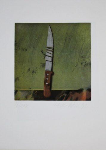 Messer / Knife by Karel Rösel