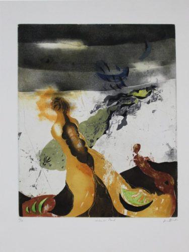 Sinkender Mond / Sinking World by Karl Brandstätter