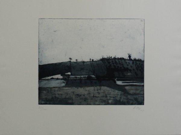 Landschaft by Karlheinz Biederbick