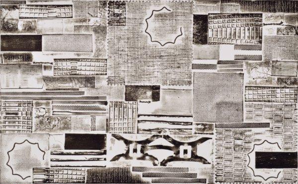 Pattern Language – B & W by Katherine Kiefer