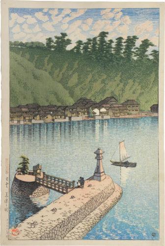 Souvenirs Of Travel, Third Series: Mihogaseki, Izumo by Kawase Hasui