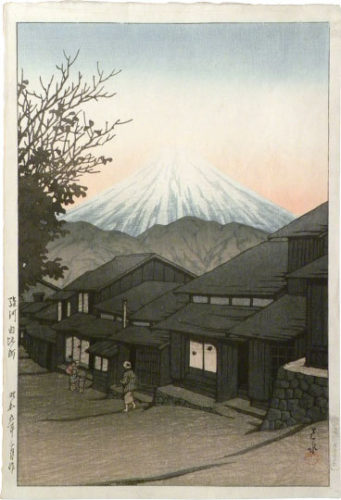 Selection Of Views Of The Tokaido: Yui, Suruga by Kawase Hasui at