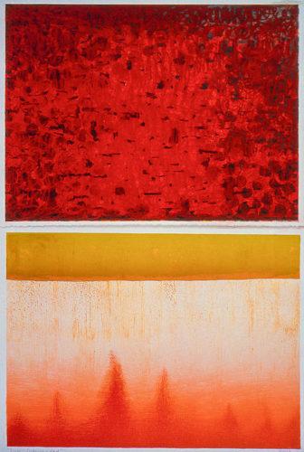 Verse – Imbuing In Red by Keiko Hara