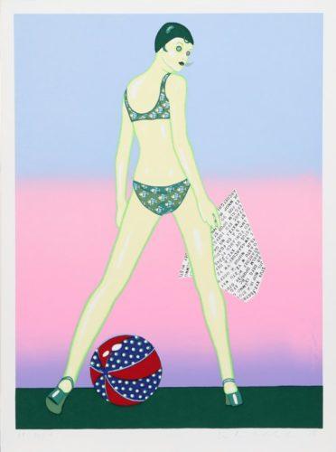 Beach Ball by Kiki Kogelnik at