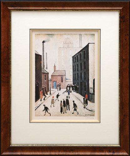 Industrial Scene by L S Lowry