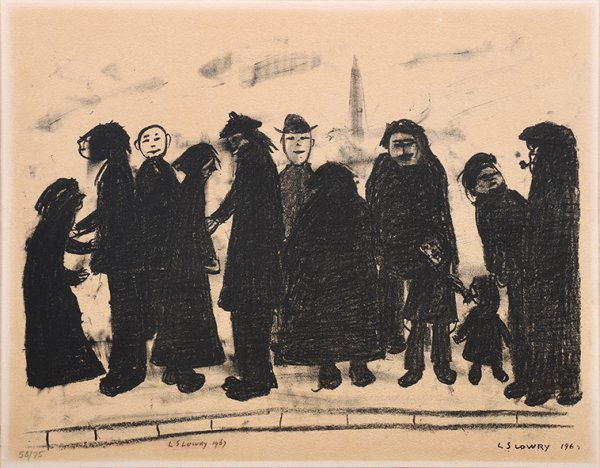 Shapes And Sizes by L S Lowry