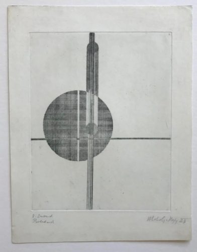 Q1 Suprematistisch by Laszlo Moholy-Nagy at