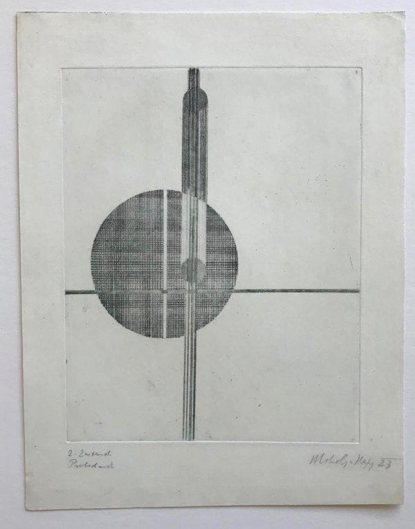 Q1 Suprematistisch by Laszlo Moholy-Nagy