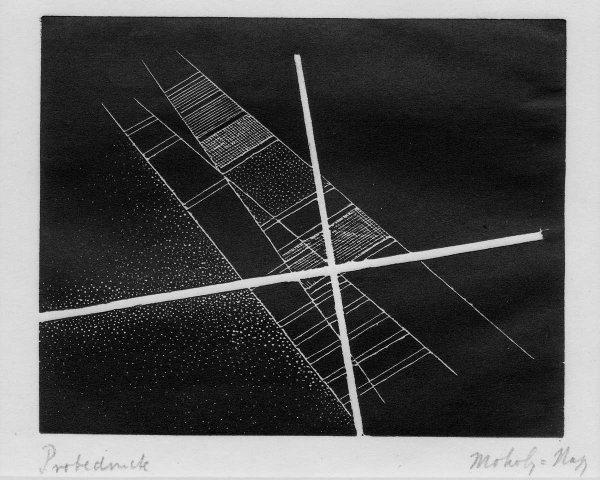 Untitled (construction) by Laszlo Moholy-Nagy