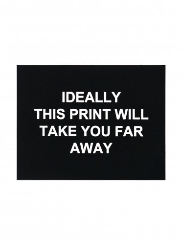 Ideally This Print by Laure Prouvost
