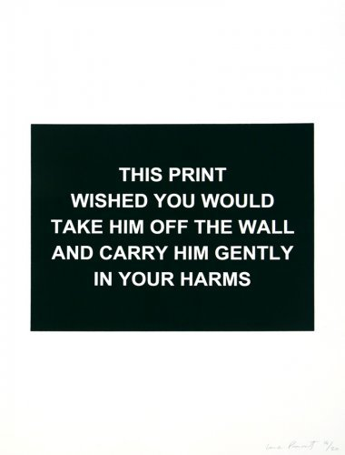 This Print Wished You Would…. by Laure Prouvost