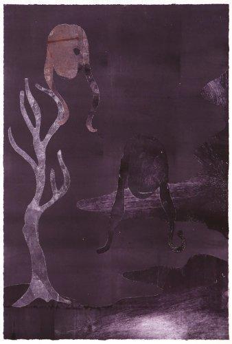 Ensayos De La Sombra 3 by Leiko Ikemura