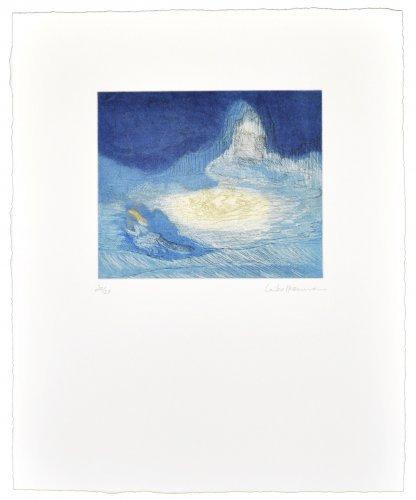 La Huida De Los Montes Azules by Leiko Ikemura