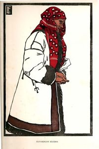 Slovakische Bauerin / Slovak Peasant by Leonhard Fanto