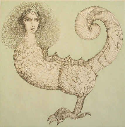 The Foreigners / Les Etrangers by Leonor Fini