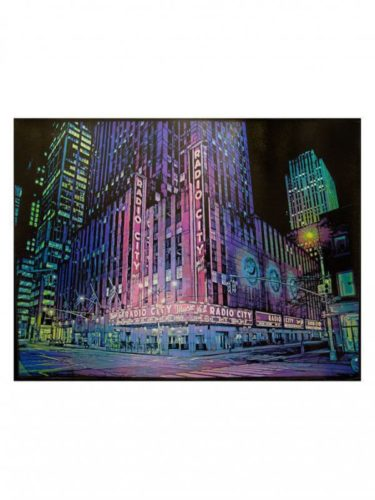 Radio City Music Hall by Logan Hicks