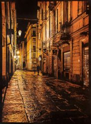 Torino Nightcrawler Solo by Logan Hicks at Taglialatella Galleries