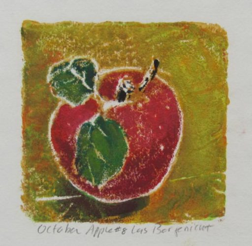 October Apple #8 by Lois Borgenicht