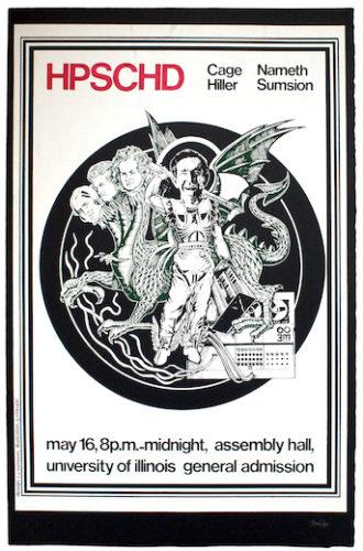 Hpschd (dragon Slayer) by John Cage