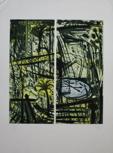 Palmes by Louis Cane