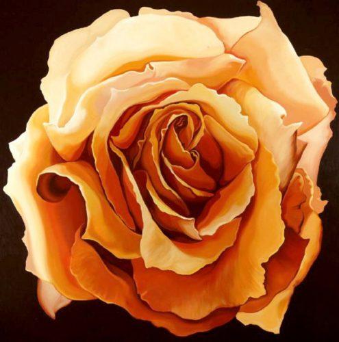Yellow Rose by Lowell Nesbitt