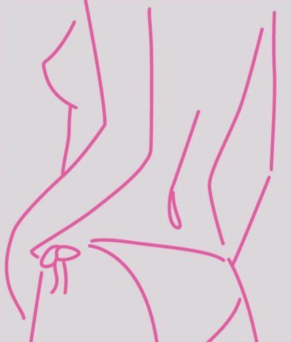 Fuchsia Pants by Lucie Bennett