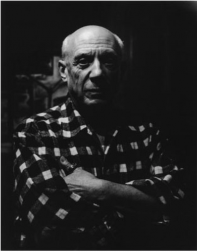 Picasso by Lucien Clergue at