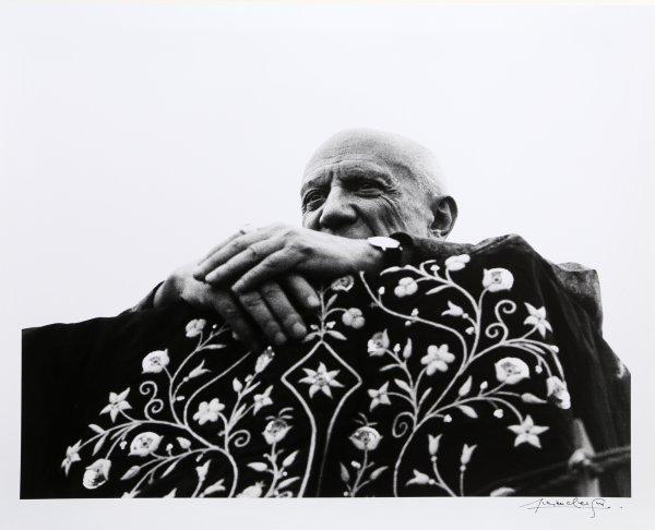 Picasso Preside La Corrida – Frejus, 1962 by Lucien Clergue