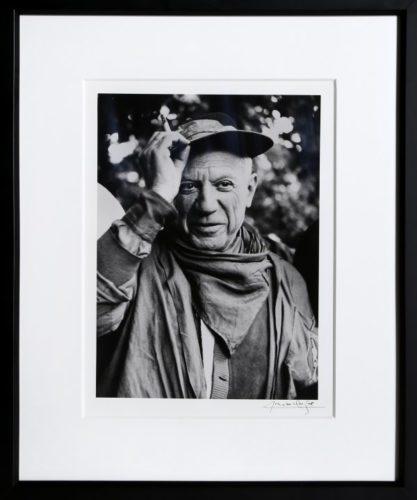Picasso A La Feria, Revetu Des Habits De La Pena D by Lucien Clergue