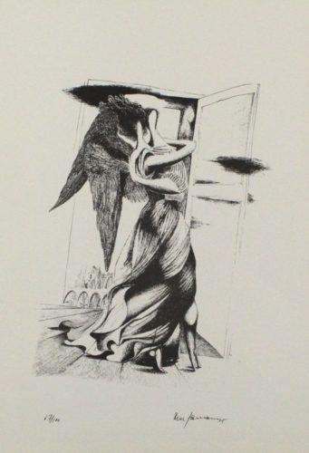 Durch Ein Nadelöhr Iii/through A Needle's Eye Iii by Mac Zimmermann at