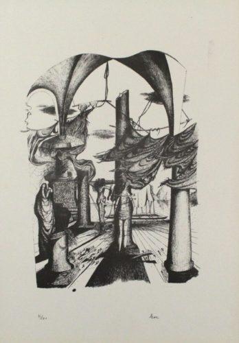 Durch Ein Nadelöhr Ii /through A Needle's Eye Ii by Mac Zimmermann