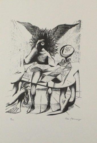 Durch Ein Nadelöhr I / Through A Needle's Eye I by Mac Zimmermann at