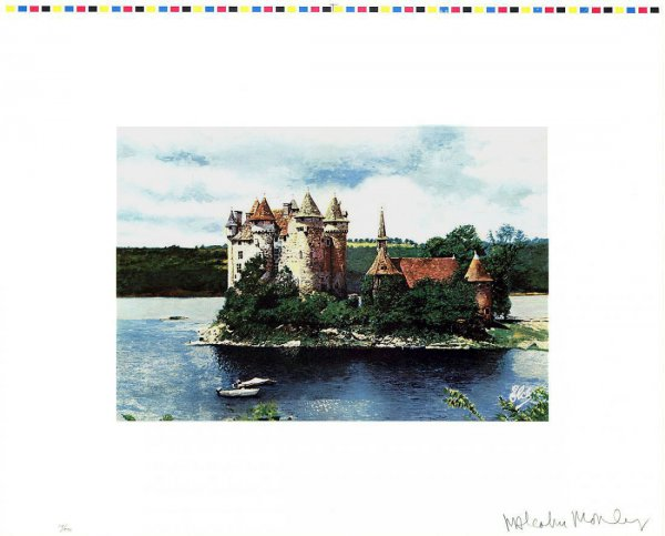Rhine Chateau by Malcolm Morley at