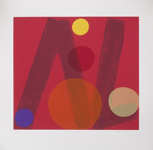 Rivoli Reds by Mali Morris RA